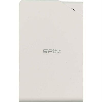"""Внешний жесткий диск Silicon Power USB 3.0 2Tb Stream S03 2.5"""" белый SP020TBPHDS03S3W"""