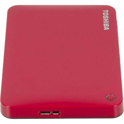 "Жесткий диск Toshiba USB 3.0 1Tb CANVIO Connect II 2.5"" красный HDTC810ER3AA"