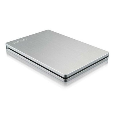 "Жесткий диск Toshiba USB 3.0 1Tb Stor.e Slim 2.5"" серебристый for Mac HDTD210ESMEA"