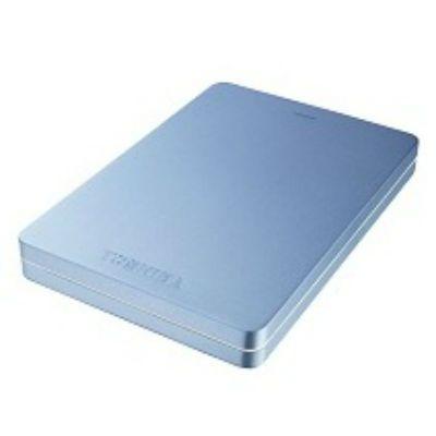 "Жесткий диск Toshiba USB 3.0 1Tb Canvio Alu 2.5"" синий HDTH310EL3AA"