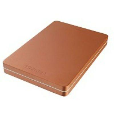 """Жесткий диск Toshiba USB 3.0 1Tb Canvio Alu 2.5"""" красный HDTH310ER3AA"""