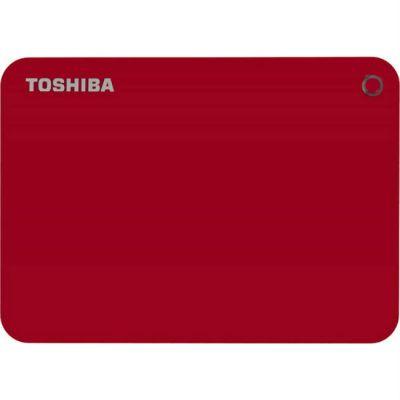 """Жесткий диск Toshiba USB 3.0 2Tb CANVIO Connect II 2.5"""" красный HDTC820ER3CA"""