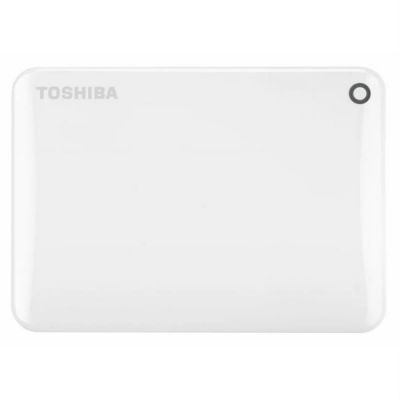 "Жесткий диск Toshiba USB 3.0 2Tb CANVIO Connect II 2.5"" белый HDTC820EW3CA"