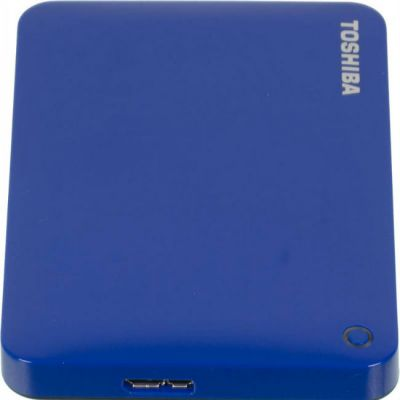 "Жесткий диск Toshiba USB 3.0 500Gb CANVIO Connect II 2.5"" голубой HDTC805EL3AA"