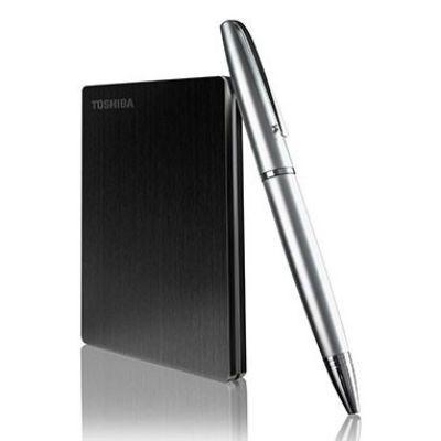 """Жесткий диск Toshiba USB 3.0 500Gb Stor.e Slim 2.5"""" черный HDTD205EK3DA"""
