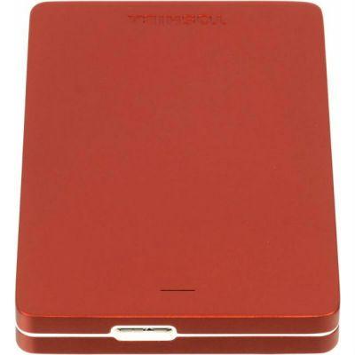 "Жесткий диск Toshiba USB 3.0 500Gb Canvio Alu 2.5"" красный HDTH305ER3AA"