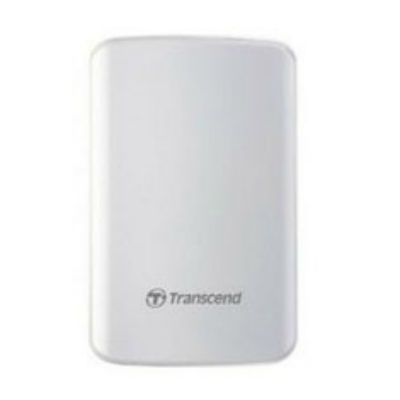 "Жесткий диск Transcend USB 3.0 1Tb StoreJet 25D3 2.5"" белый TS1TSJ25D3W"