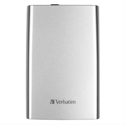 "Жесткий диск Verbatim USB 3.0 1Tb (5400rpm) 2.5"" серебристый 53071"