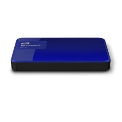 """Жесткий диск Western Digital Original USB 3.0 2Tb My Passport Ultra (5400 об/мин) 2.5"""" синий WDBNFV0020BBL-EEUE"""