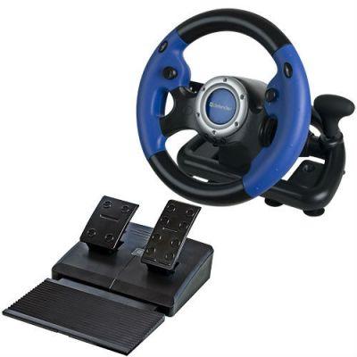 Defender Руль Challenge Turbo GT 10 кнопок + два подрулевых переключателя + восьмипозиционный переключатель видов