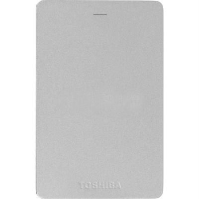 "Жесткий диск Toshiba USB 3.0 500Gb Canvio ALU 3S 2.5"" серебристый HDTH305ES3AA"