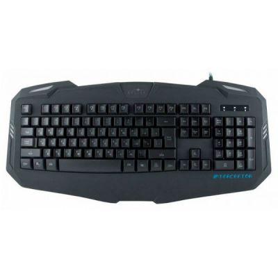 Клавиатура Oklick 730G черный USB Multimedia LED