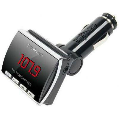 Rolsen FM трансмиттер RFA-360 black SD USB 5m PDU MP3 (1-RLCA-RFA-360)