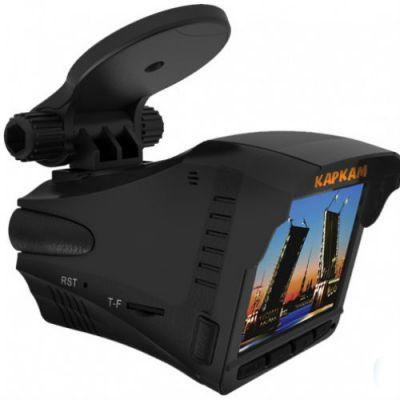 Каркам Видеорегистратор+радар детектор КОМБО 2