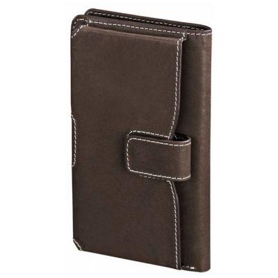 Чехол Hama -книжка для Apple iPhone 5/5s size XL коричневый (00123442) 123442