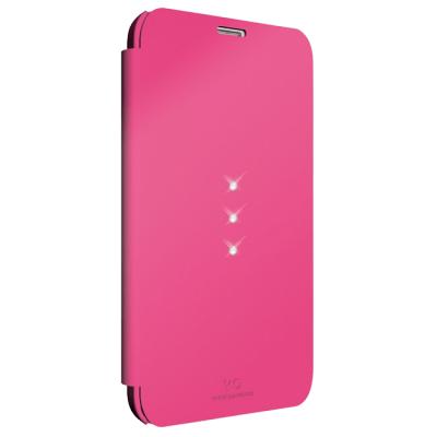 Чехол Hama -книжка для Samsung Galaxy S5 Crystal WD розовый 153810