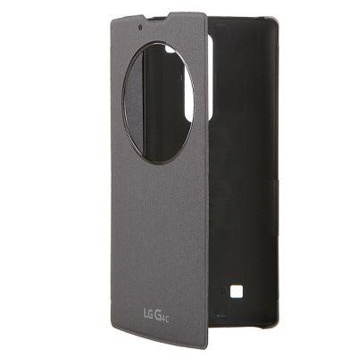 Чехол LG -книжка для G4c LGH525N Quick Circle черный (CCF-600.AGRATB)