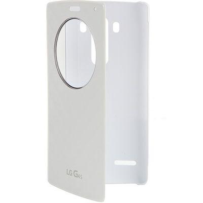 Чехол LG -книжка для G4s LGH736 Quick Circle белый (CFV-110.AGRAWH)
