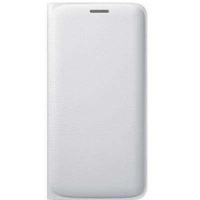 Чехол Samsung -книжка для Galaxy S6 Edge Flip Wallet белый (EF-WG925PWEGRU)