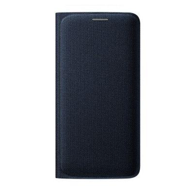 ����� Samsung -������ ��� Galaxy S6 Edge Flip Wallet ������ (EF-WG925BBEGRU)