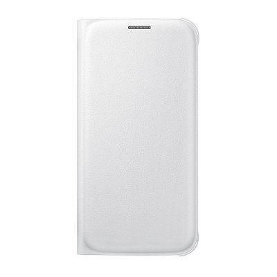 Чехол Samsung -книжка для Galaxy S6 Flip Wallet белый (EF-WG920PWEGRU)