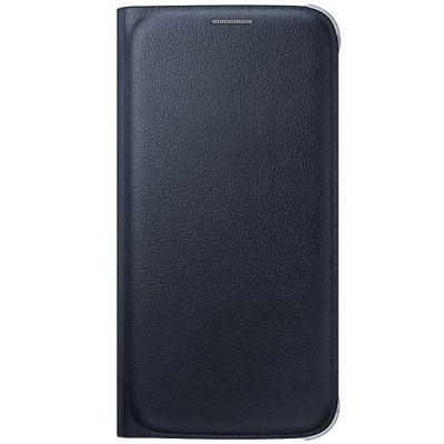 Чехол Samsung -книжка для Galaxy S6 Flip Wallet черный (EF-WG920PBEGRU)