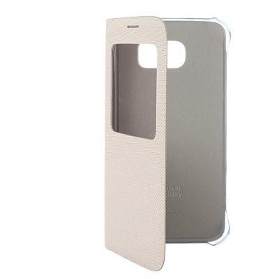 ����� Samsung -������ ��� Galaxy S6 S View Cover ���������� (EF-CG920BFEGRU)