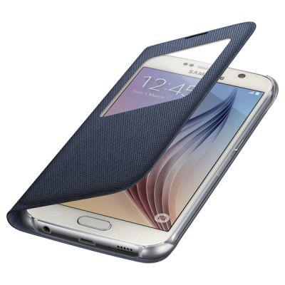 Чехол Samsung -книжка для Galaxy S6 S View Cover черный (EF-CG920BBEGRU)