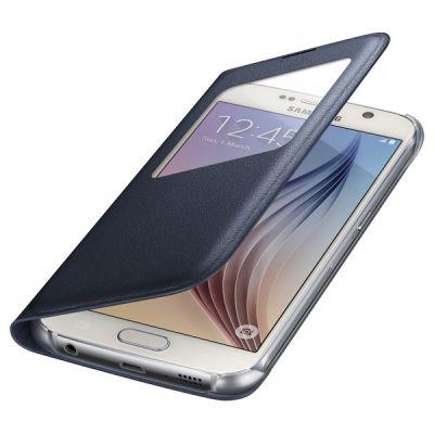 Чехол Samsung -книжка для Galaxy S6 S View Cover черный (EF-CG920PBEGRU)