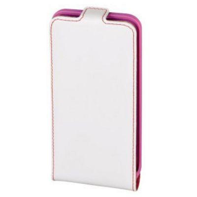 Чехол Hama -раскладушка для iPhone 6 Guard Case белый/розовый (00135025) 135025