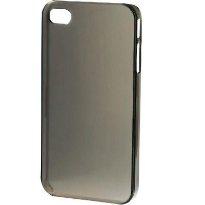 Чехол Hama (клип-кейс) Hama для Apple iPhone 5 Crystal серый (00115336) 115336