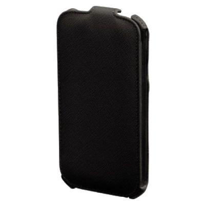 Чехол Hama (клип-кейс) для Samsung Galaxy S5 mini Flap черный 134131