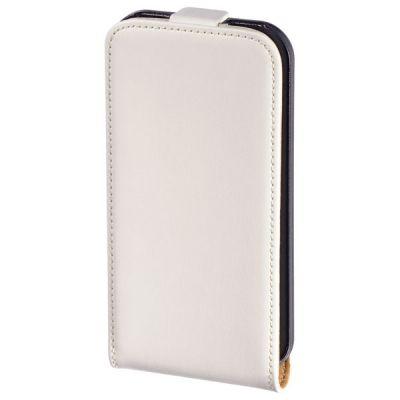 Чехол Hama (флип-кейс) для Apple iPhone 4/4S Frame белый (104528)