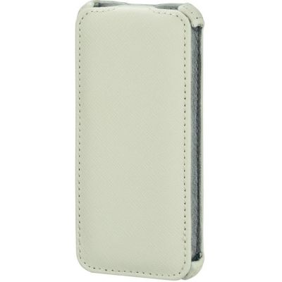 Чехол Hama (флип-кейс) для Apple iPhone 5/5s Flap белый 118802