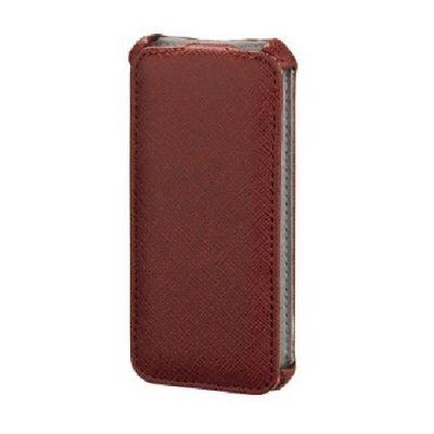 Чехол Hama (флип-кейс) для Apple iPhone 5/5s Flap красный 118801