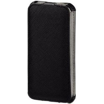 Чехол Hama (флип-кейс) для Apple iPhone 5/5s Flap черный (118803)