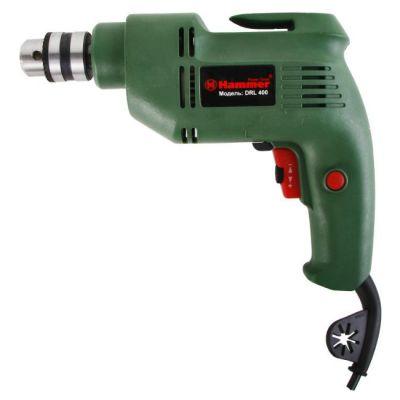 Дрель Hammer DRL400, 0.4 кВт, 10 мм, 0-2700 об/мин, реверс, 12601h