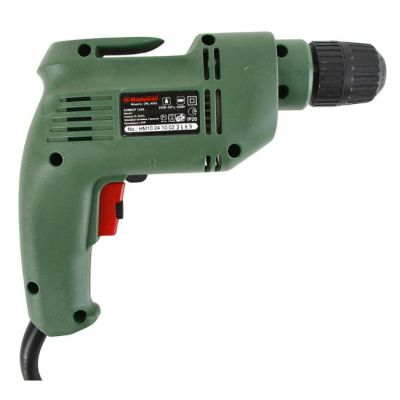 Дрель Hammer DRL400S, 0.4кВт БЗП 10 мм, 0-2700 об/мин, 1.4 кг, реверс, 13321h