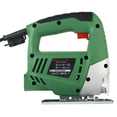 Электролобзик Hammer LZK500LE, 350 Вт, 3000 об/мин, 55 мм-дер, 8 мм-мет, алюминиевое основание