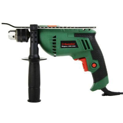 Дрель Hammer ударная UDD550A, 550 Вт, 0-3000 об/мин, ЗВП 13 мм, 2.2 кг, 28438h