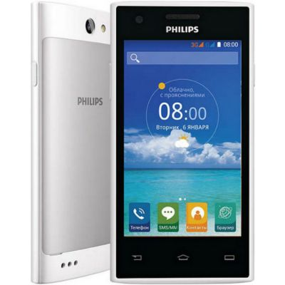 �������� Philips S309 4Gb White 8712581735814