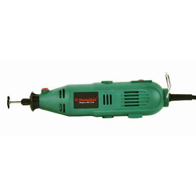 Hammer гравер MD135A, 135 Вт, 2.4-3.2 мм, 10000-32000 об/мин, гибк. вал, кейс, насадки 41 шт, (мини), 44728h
