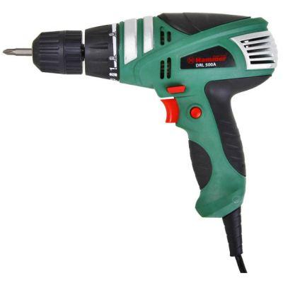 Дрель Hammer DRL500A, 280 Вт, 10 мм, 0-750 об/мин, реверс 24 Нм, DRL500A