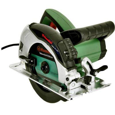 Пила Hammer CRP1600A, 1.6 кВт, 5000 об/мин, диск 190х20 мм, пропил 63 мм, литое осн. 30396h