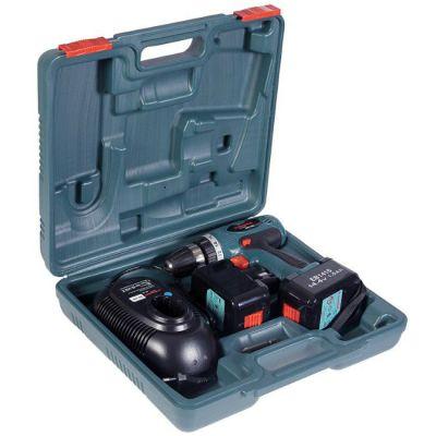 Шуруповерт Hammer ACD144C PREMIUM, 14.4 В, 2*1.5 Ач, NiCd, 36 Нм, 15 полож, 0-350/1200 об/мин, БЗП 10 мм, 1.6 кг, кейс пласт. 20192h