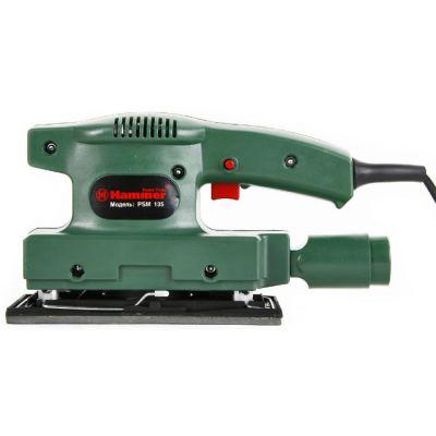 Шлифмашина Hammer PSM135, 135 Вт, 90х187 мм, 10000 об/м, 13213h