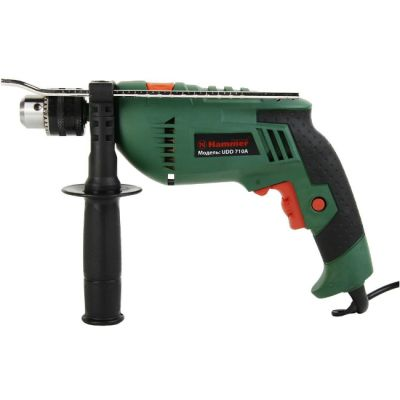 Дрель Hammer ударная UDD710A, 710 Вт, 0-3000 об/мин, ЗВП 13 мм, 2.2 кг, 28439h