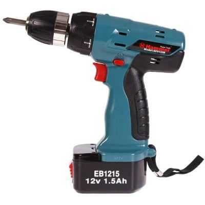 ���������� Hammer ACD120B PREMIUM, 12 �, 2*1.5 ��, NiCd, 24 ��, 20 �����, 0-600 ��/���, ��� 10 �� 1.5 ��, ���� �����, 16929h