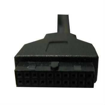 Кабель Espada Планка на лицевую панель 2 порта USB 3.0 EBrFr-2USB3