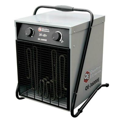 Quattro Elementi Нагреватель воздуха электрический QE-36000 E (18 / 36кВт, 380В-3ф, 2400 м3/час) 649-325